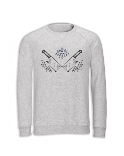 SWEAT BLANC CHINE HOMME ANDRAS