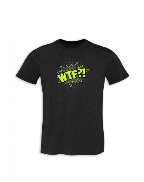 TSHIRT GRIS ANTHRACITE HOMME WTF