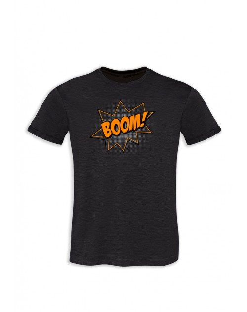TSHIRT GRIS ANTHRACITE HOMME BOOM