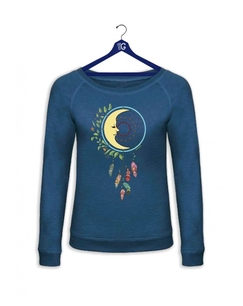SWEAT BLEU DREAM MOON