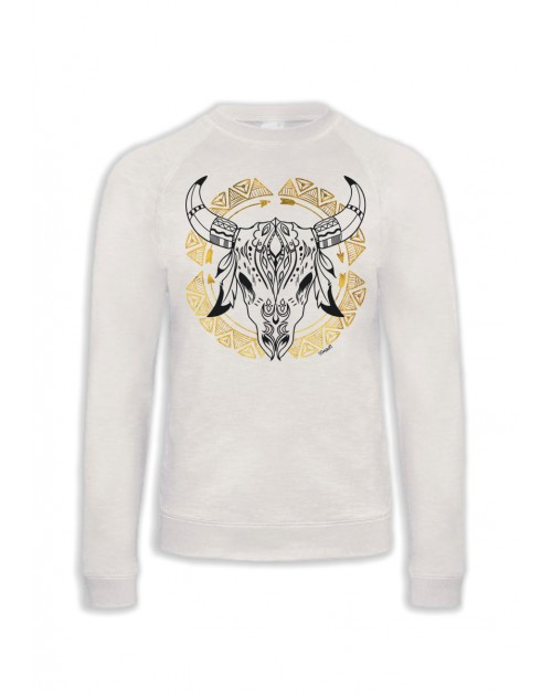 SWEAT ETHNIC SKULL NOIR