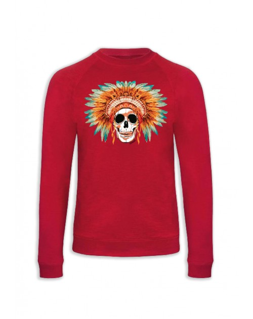 SWEAT ROUGE SKULL COIFFE