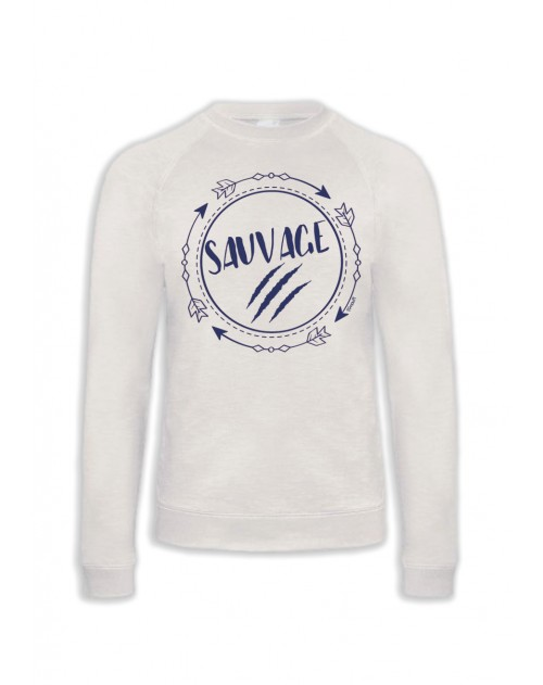 SWEAT BLANC SAUVAGE