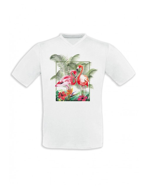 T-SHIRT HOMME FLAMINGO