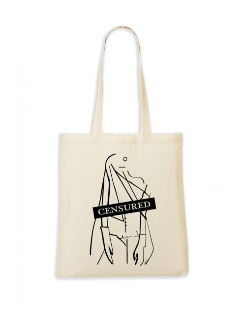 TOTEBAG NATUREL CENSURED