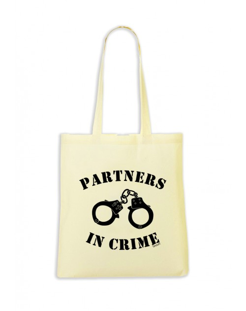 TOTEBAG LEMON PARTNERS IN CRIME