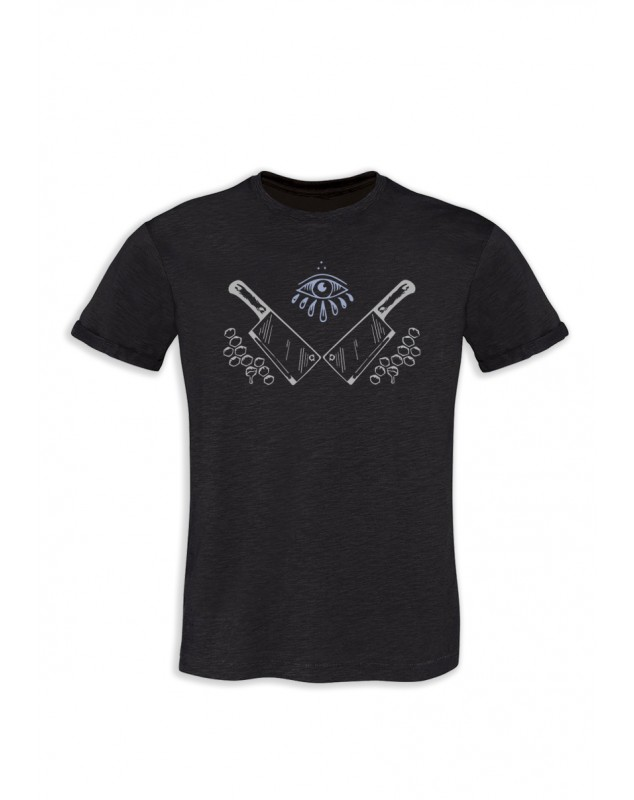 TSHIRT GRIS ANTHRACITE HOMME ANDRAS